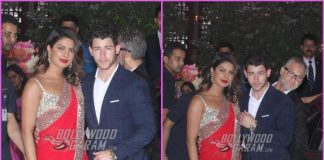 Priyanka Chopra and Nick Jonas at Akash Ambani and Shloka Mehta's pre-engagement ceremony