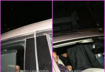 Priyanka Chopra and Nick Jonas hide faces as they arrive in Mumbai