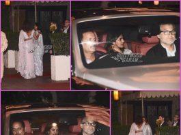 Priyanka Chopra, Nick Jonas and Madhu Chopra dine together