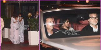 Priyanka Chopra, Nick Jonas and Madhu Chopra dine together
