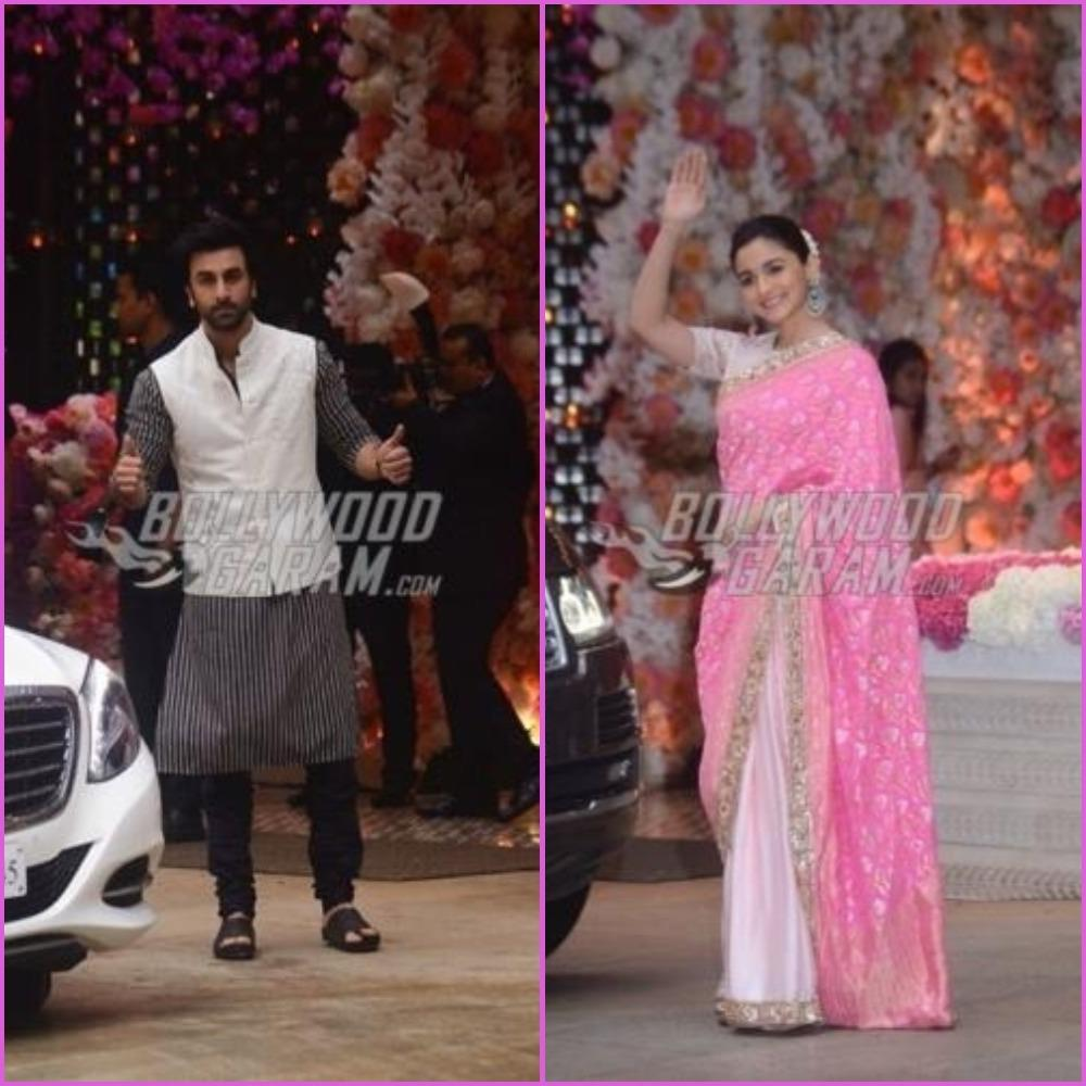 Bollywood goes for gold at the Akash Ambani & Shloka Mehta engagement bash!