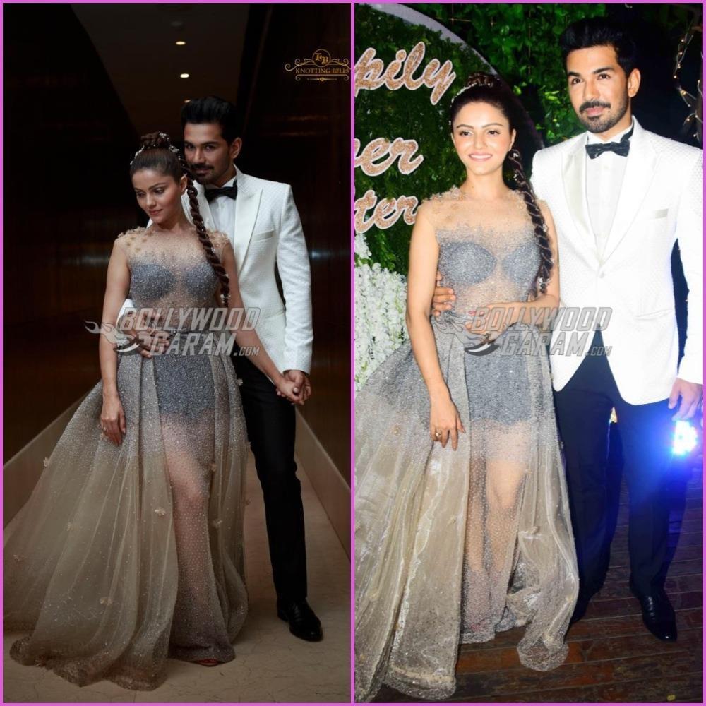 Rubina Dilaik and Abhinav Shukla look dream-like at wedding