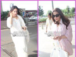 Sara Ali Khan and Amrita Singh make a style splash at airport