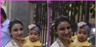 Soha Ali Khan on a casual outing with daughter Inaaya Naumi Kemmu