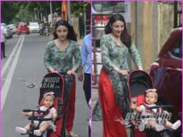 Soha Ali Khan takes daughter Inaaya Naumi Kemmu on a stroll