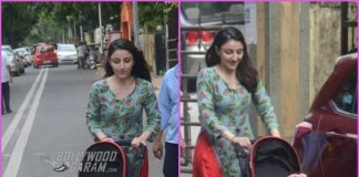 Soha Ali Khan takes daughter Inaaya Naumi Kemmu on a stroll