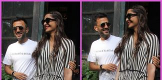 Sonam Kapoor and Anand Ahuja on a lunch date together
