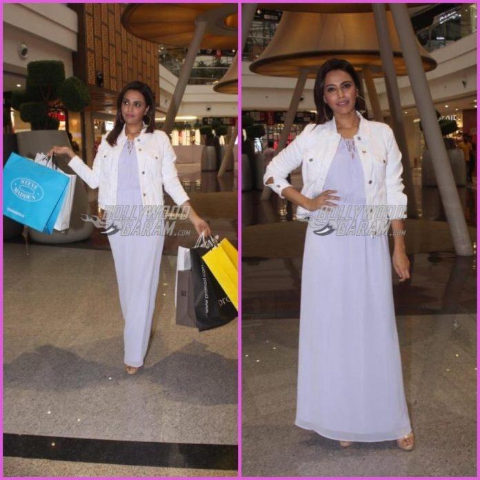 Swara Bahskar shopping