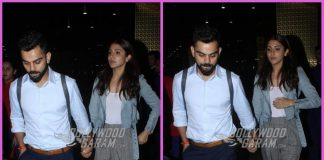 Virat Kohli and Anushka Sharma look tired as they return from Bengaluru