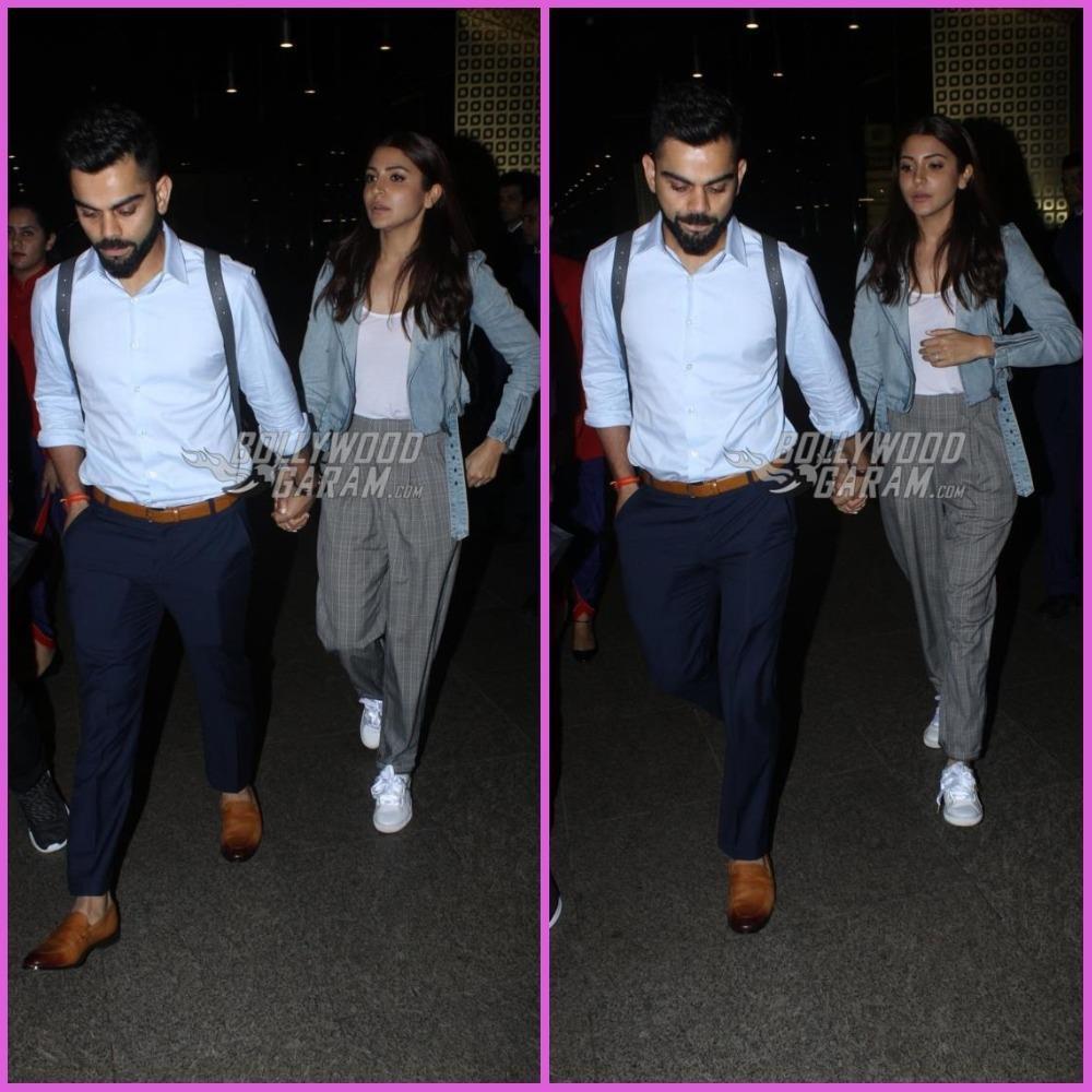 Virat Kohli And Anushka Sharma Look Tired As They Return