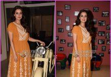 Dia Mirza promotes Sanju in style