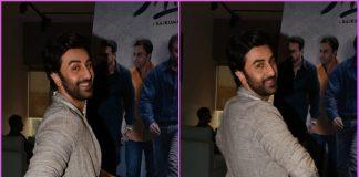 Ranbir Kapoor promotes Sanju at Rajkumar Hirani's office