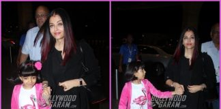 Aishwarya Rai Bachchan and daughter Aaradhya Bachchan leave for Paris