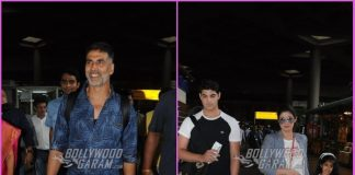 Akshay Kumar returns with family from holiday in London