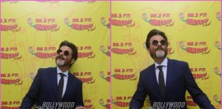 Anil Kapoor promotes Fanney Khan at Radio Mirchi
