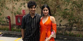 Ishaan Khatter and Janhvi Kapoor land at Ahmedabad for Dhadak promotions