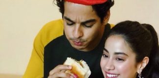 Janhvi Kapoor and Ishaan Khatter gorge in to a vadapav during Dhadak promotions in Pune