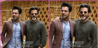 Anil Kapoor and Rajkummar Rao promote Fanney Khan with excitement