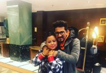 Haarsh Limbachiyaa inks Bharti Singh's name on his chest as birthday gift