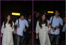 Janhvi Kapoor and Ishaan Khatter return from Delhi promotions of Dhadak