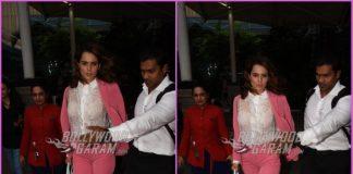 Kangana Ranaut rules the airport look as she heads to Jaipur