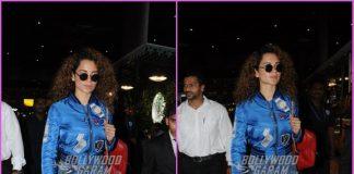 Kangana Ranaut returns from Mental hai Kya schedule in London