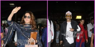 Ranveer Singh and Kangana Ranaut make a style splash at airport