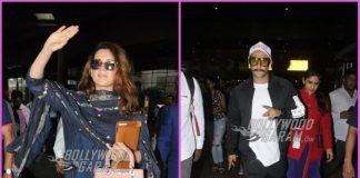 Ranveer Singh and Kangana Ranaut make a style splash at airport
