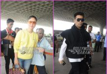 Kareena Kapoor and Karan Johar make a stylish appearance at airport