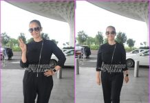 Manisha Koirala makes a pleasant appearance at airport