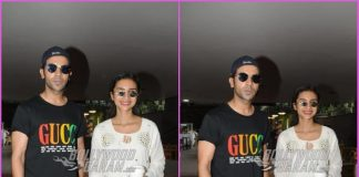 Rajkummar Rao and Patralekha all smiles at airport