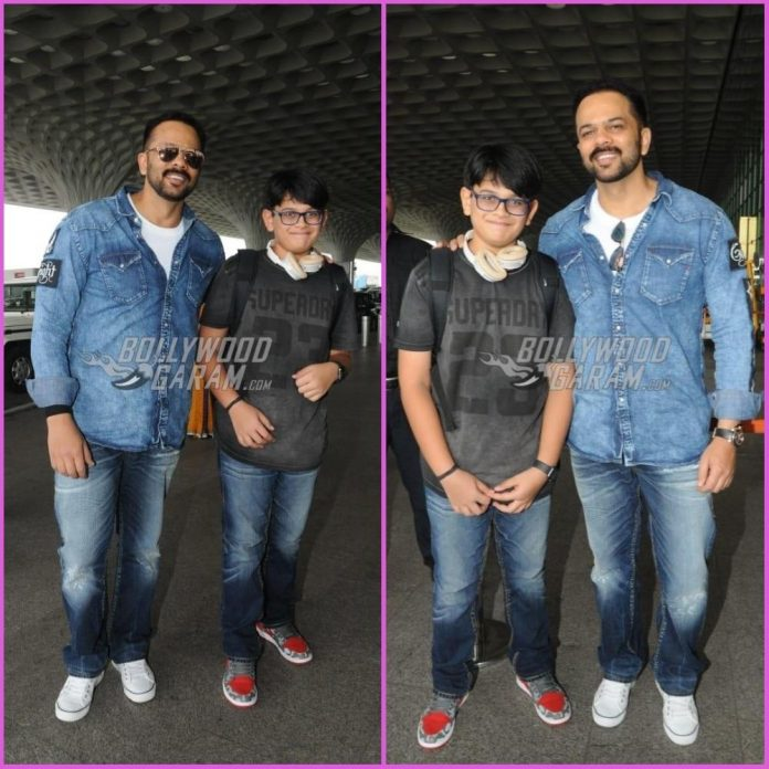 Rohit Shetty and son