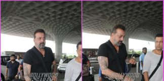 Sanjay Dutt makes a style splash at airport