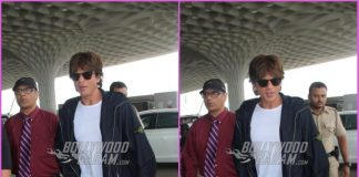 Shah Rukh Khan leaves for Dubai in style