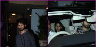 Shahid Kapoor and Mira Rajput looked great as they step out for dinner