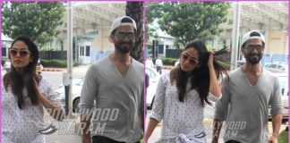 Mira Rajput and Shahid Kapoor on a casual outing