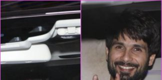 Shahid Kapoor in jovial mood post dubbing session in Mumbai