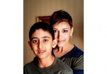 Sonali Bendre finds strength in son Ranveer Bahl as she fights cancer