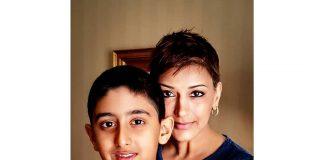 Sonali Bendre finds strength in son Ranveer Bahl as she fights cancer