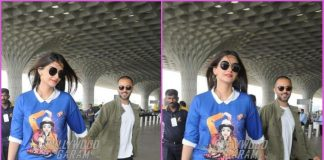 Sonam Kapoor and Anand Ahuja walk hand in hand at airport