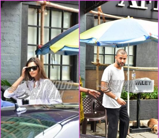 Sonam Kapoor and Anand Ahuja prepare for their store launch