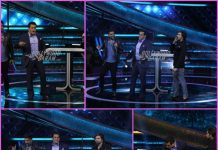 Guru Randhawa and Himesh Reshamiya have fun with Salman Khan on Dus Ka Dum