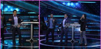 Guru Randhawa and Himesh Reshamiya have fun with Salman Khan on Dus Ka Dum