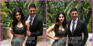 Akshay Kumar and Mouni Roy promote Gold in Style