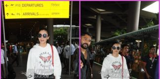 Alia Bhatt makes a stylish return from London