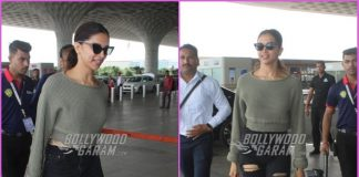 Deepika Padukone grabs attention with her airport look