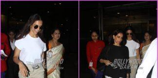 Deepika Padukone returns to Mumbai with mother Ujjala Padukone