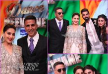 Akshay Kumar and Mouni Roy promote Gold on sets of Dance Deewane
