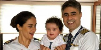 Gul Panag shares adorable picture with son Nihal and husband Rishi Attari