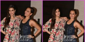 Sonakshi Sinha and Diana Penty promote Happy Phir Bhag Jayegi